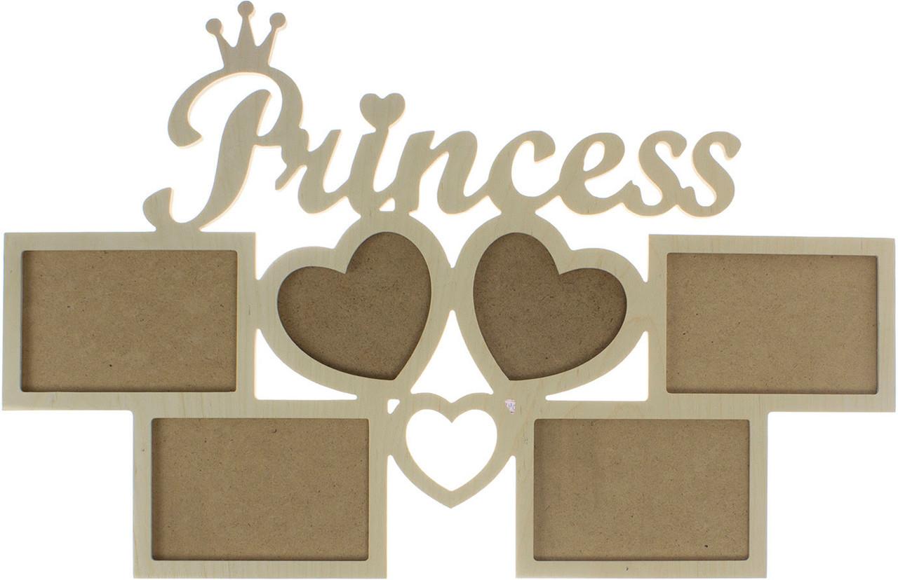 "Фотоколаж дерев. ""Princess"" №1045"