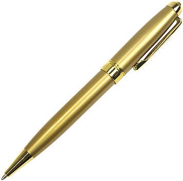 """Ручка авт. кульк. з повор. метав. """"Baixin"""" №1196/BP951S+G 0,7 мм зол.+сріб.(12)"""
