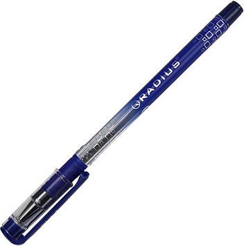 """Ручка кульк. """"Radius"""" №0184 I-pen 0,7 мм синя,напівпрозор. корпус(12)(144)(1728)"""