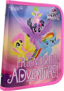 """Папка для зош. B5 """"Kite"""" №LP17-203-2 """"Little Pony"""" на блиск. об'ємн.(1)"""