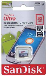 Карта памяти microSDHC 32 Gb class 10 SanDisk