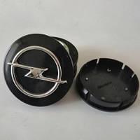 Колпачки на диски Opel 60/55мм объемные 4 штуки