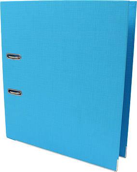 """Папка-реєстратор А4 """"Axent"""" 7,5 см №1722-29С-А Prestige+ двостор. (світло-блакитна)зібр."""