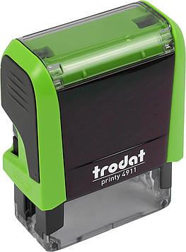 Оснастка для штампа пласт. 38х14мм Trodat №4911 (зелен.)