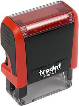 Оснастка для штампу пласт. 38х14мм Trodat №4911 (черв.)
