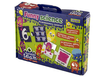 "Набір для творч. ""1В"" ""Funny science"" №953068 Monster team(9)"