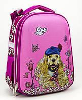 """Ранець каркасний """"School Case"""" Puppy PL,2від.,39x28x21см №9902/Class/(4)"""