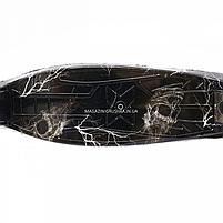 Самокат трехколесный детский MAXI Best Scooter пластмассовый, 4 колеса PU, СВЕТ d=12см (779-1318), фото 2