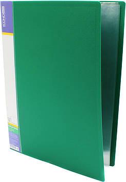 """Папка Economix"""" №E30601-04 A4 з 10ф. зелена(6)(24)"""