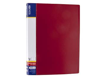 """Папка Economix"""" №E30603-03 A4 з 30ф. червона(6)(24)"""