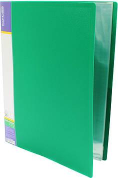 """Папка Economix"""" №E30603-04 A4 з 30ф. зелена(6)(24)"""
