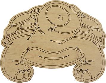Черепаха 8х10см фанера(5)