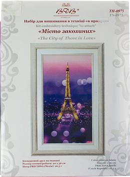 """Набір для вишивання """"Місто закоханих"""" №ТН-0975"""