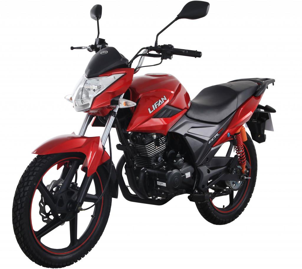 Мотоцикл Lifan LF150-2E Червоний глянцевий Toscana Red