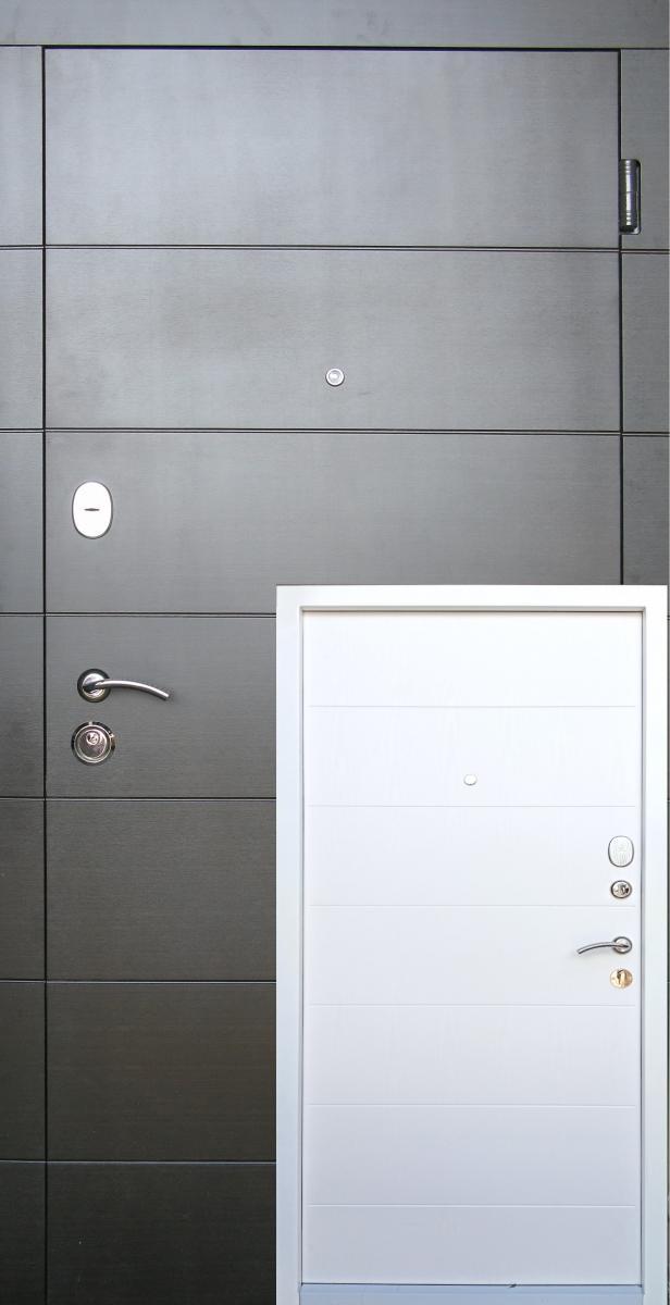 Металлические входные двери Редфорт (Redfort)  Элегант в квартиру
