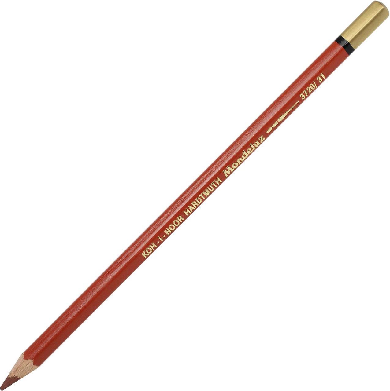 "Олівець кольор. ""Koh-i-noor"" №3720/31 Mondeluz аквар. light brown/св. коричневий"