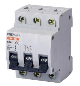 """Модульний автоматичний вимикач 3/20 """"C"""" Energio"""