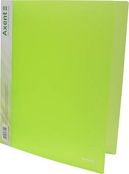 """Папка """"Axent"""" №1208-26-А A4 на 4кільця d-35мм (зелена)(1)(10)"""