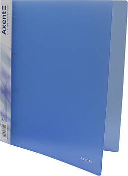 "Папка ""Axent"" №1208-22-А A4 на 4кільця d-35мм (синя)(1)(10)"