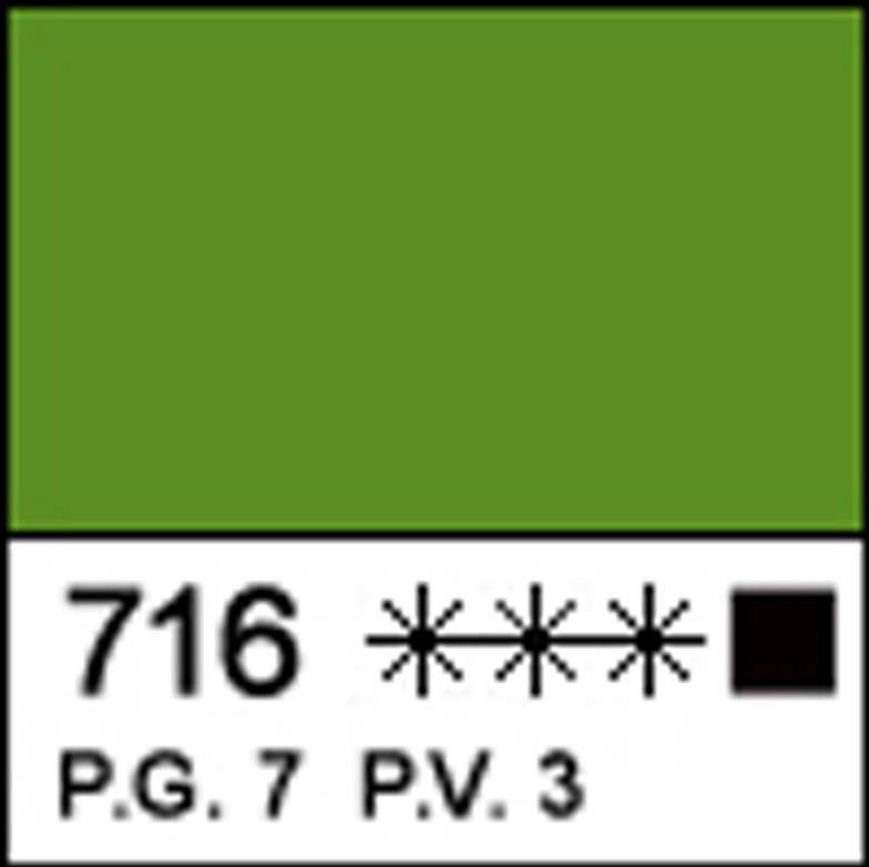 "Фарба акрил. ""Мастер-класс"" трав'яна зелен. акрил 46мл №351476 ЗХК"