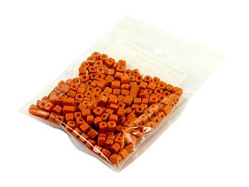 Бісер Асорті квадрат. відтінки жовто-помаранчевого(20)