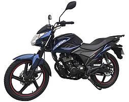 Мотоцикл Lifan LF150-2E Синій металік Dark blue