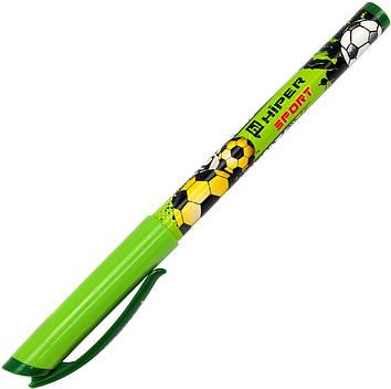 "Ручка масл. кульк. ""Hiper"" №HO-150 Sport 0,7 мм зелена(10)(100)(1000)"