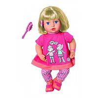 Повторюшка Джулия (43 см, Озвучена) Интерактивная Кукла Baby Annabell Zapf 700662