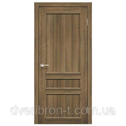 Двері Корфад Classico CL-08 зі штапіком в кольорі горіх, дуб грей, білений дуб, дуб марсала, дуб браш, эшвайт