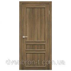 Двери Корфад Classico CL-08 со штапиком в цвете орех, дуб грей, беленый дуб, дуб марсала, дуб браш, эшвайт