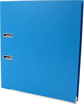 """Папка-реєстратор A4 """"Economix"""" 7см №E39723*-11 Lux (блакитна) зібраний(10)"""