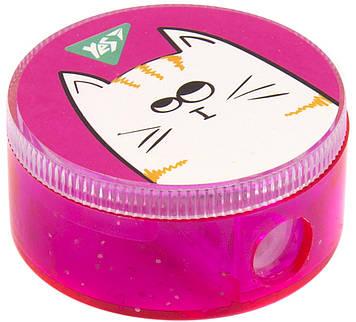 """Точилка """"Yes"""" №620419 Lovely Cats кругла(24)"""