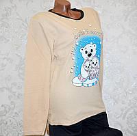 Размер S (42-44). Женская одежда для сна и отдыха, пижама двойка, кофта и штаны, домашний костюм Турция