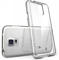 Прозрачный Чехол Samsung Galaxy S5 mini G800h (ультратонкий силиконовый) (Самсунг С5 Мини)