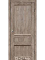 Двери Корфад Classico CL-08 со штапиком в цвете дуб нордик, дуб табакко