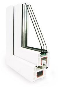 Вікна металопластикові Rehau Euro-Design 70