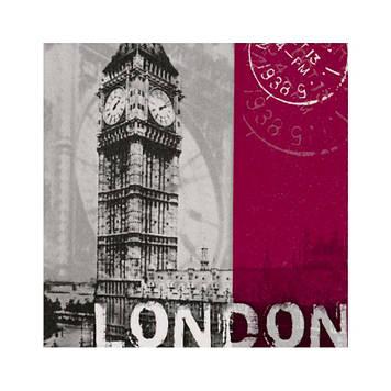 """Декупажні серветки """"London"""" 33х33см 17,5г/м2 (20шт) ti-flair №373413/4615"""