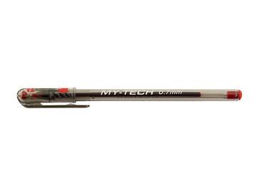 "Ручка масл. кульк. ""My-Tech"" червона(25)(2000)"