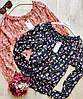 Шифоновая женская блузка на резинке 42-46 (в расцветках), фото 2