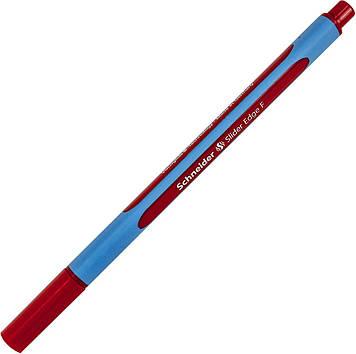 """Ручка кульк. """"Schneider"""" №S152002 Slider F Edge черв.(10)"""