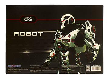 """Килимок для дит. творчість. """"CoolForSchool"""" №CF69000-04 Robot A3 пласт. миючий(8)"""