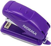 """Степлер """"Norma"""" №24/6 16арк 18мм №4052 міні, фіолетовий+антистеплер(12)"""