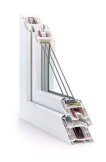 Вікна металопластикові Rehau Synego