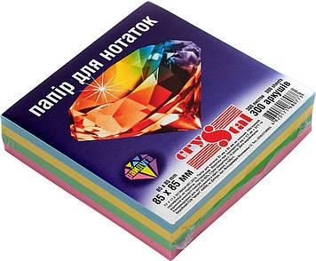 """Блок/зам. нкл 85х85мм 300арк. райдуга """"Crystal"""" №0773(32)(40)"""
