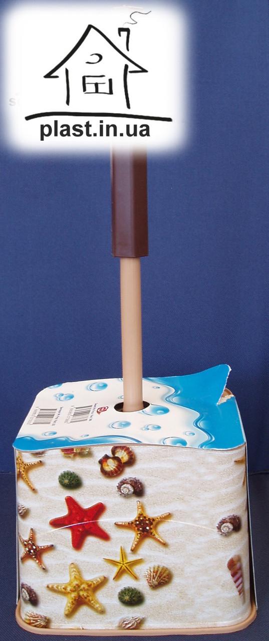 Йоршик для унітазу з підставкою Elif Plastik E012