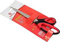 """Ножиці офісн. """"Optima"""" №O44407 23см ручка з гумовою вставкою(12)"""