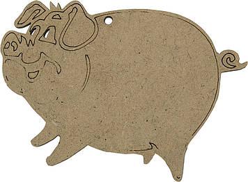 Свинка 7х10см МДФ(5)
