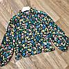 Легкая тонкая шифоновая рубашка 42-46 (в расцветках), фото 2