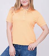 Женская футболка Поло 50-54 размер, фото 1