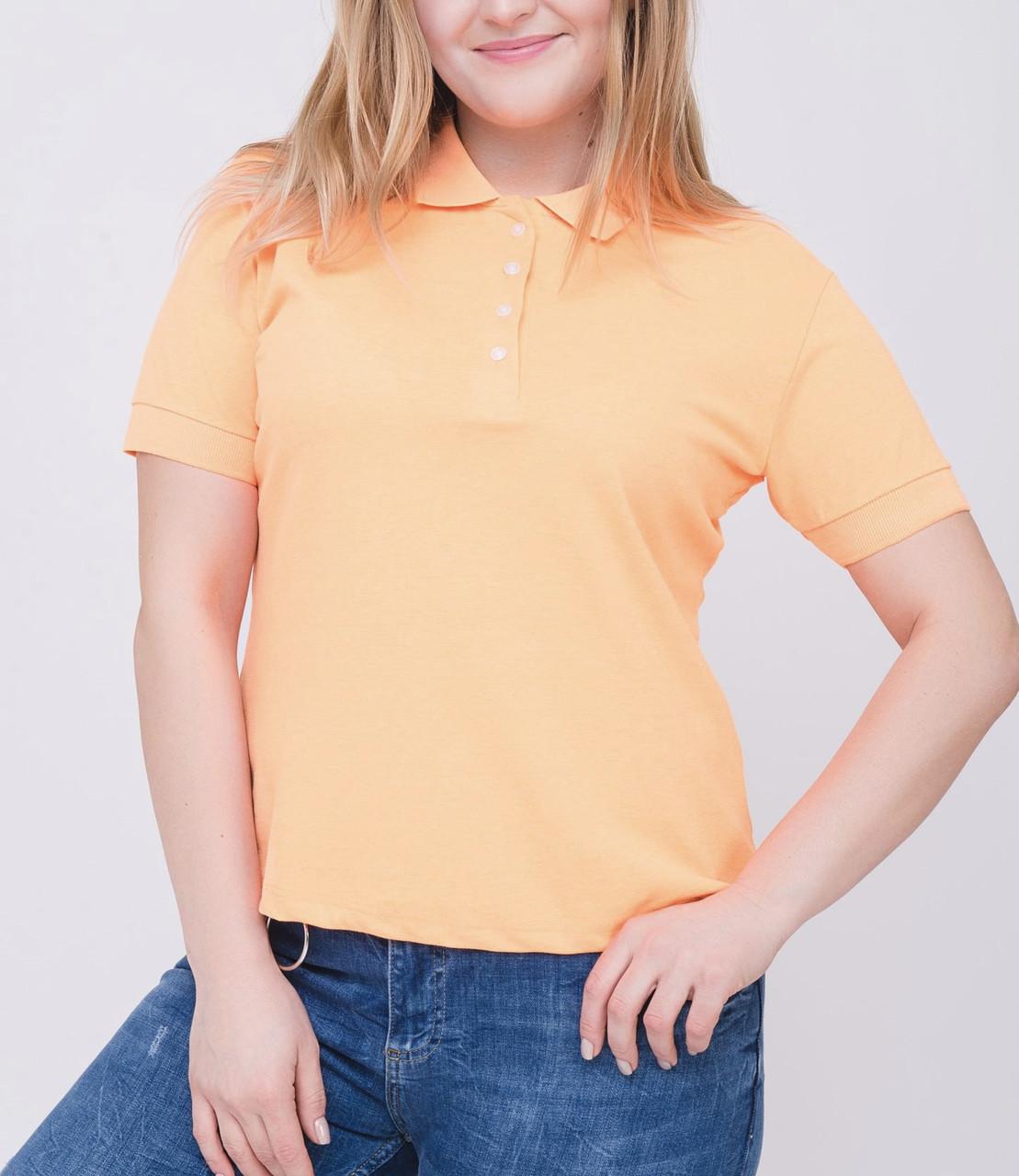 Женская футболка Поло 50-54 размер